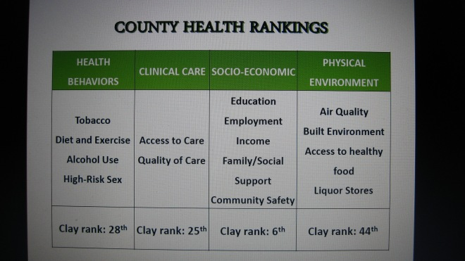 Clay County Health Rankings